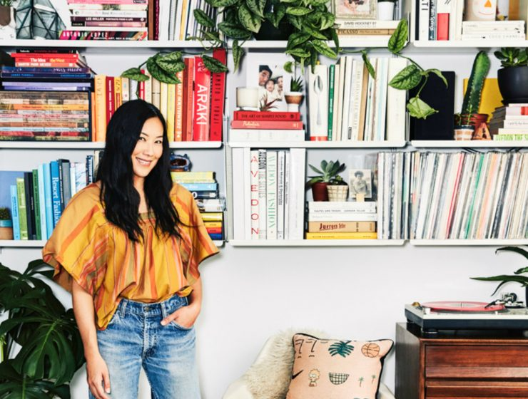 The Lead Designer of Madewell Showcases The Cool-Girl Design Look   All of the projects go back to basics by using the brand classic style. #interiordesign #homedecor #interiortrends #sideboards