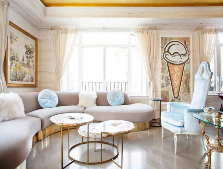Living Room Projects by Sasha Bikoff