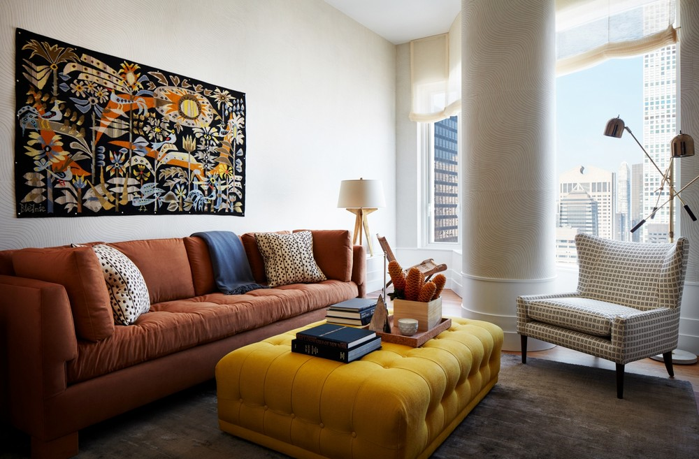Glamorous Living Room Designs by Robert Couturier