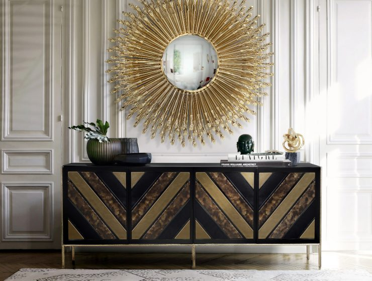 Abstract Art Geometric: The Sideboards