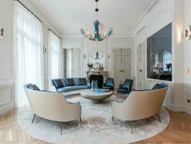Take a Look at Some Luxurious Living Rooms by Gérard Faivre
