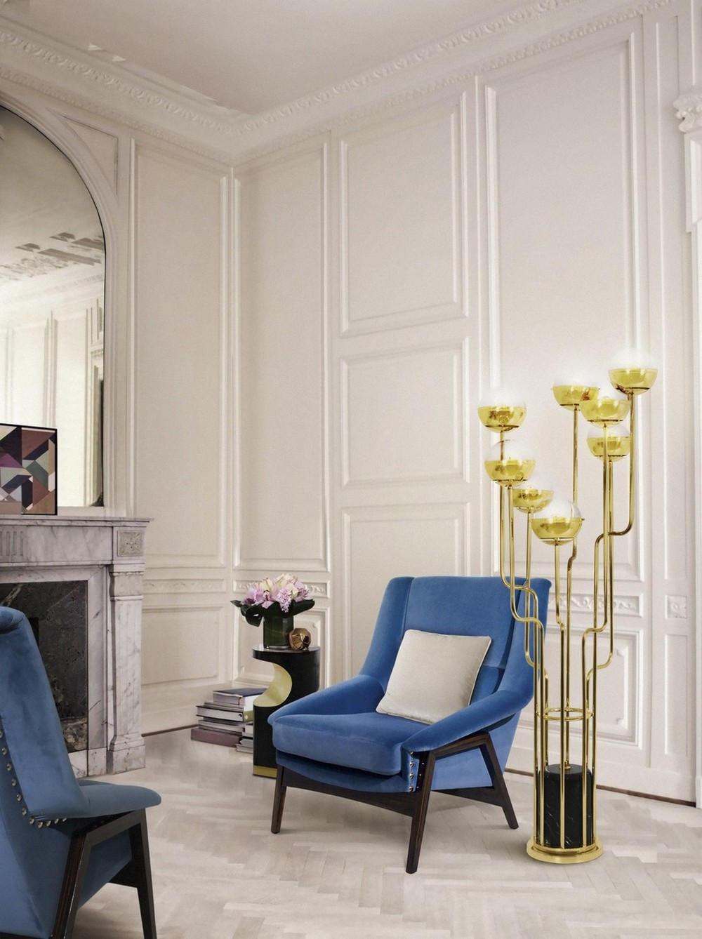 Pantone's Color of the Year: 5 Living Room Ideas in Classic Blue