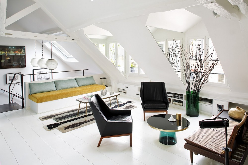 Versatility, Color and Originality: Living Rooms by Sarah Lavoine