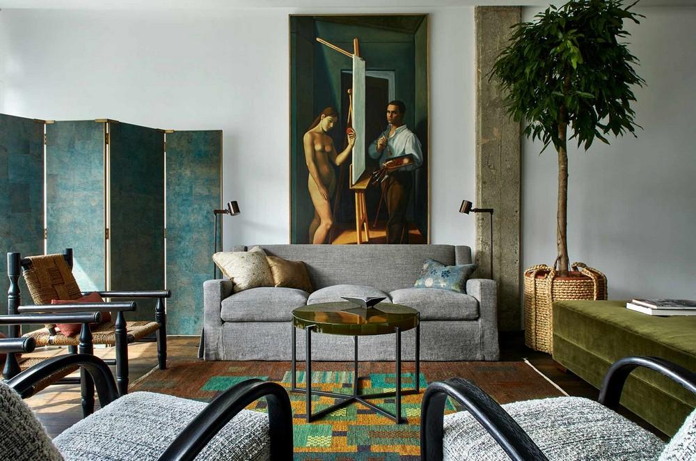 Douglas Mackie: Handsome Interiors, Moody Colors and Deep Comfort