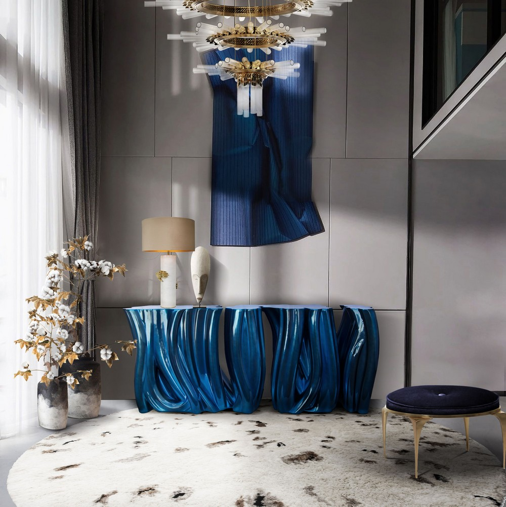 Jewel-Toned Modern Furniture For a Luxury Home
