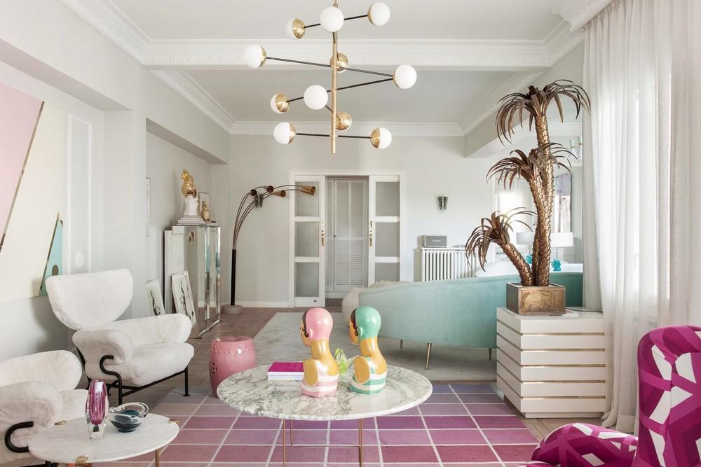 Patricia Bustos: Cream Colors, Artistic Details and Feminine Spaces