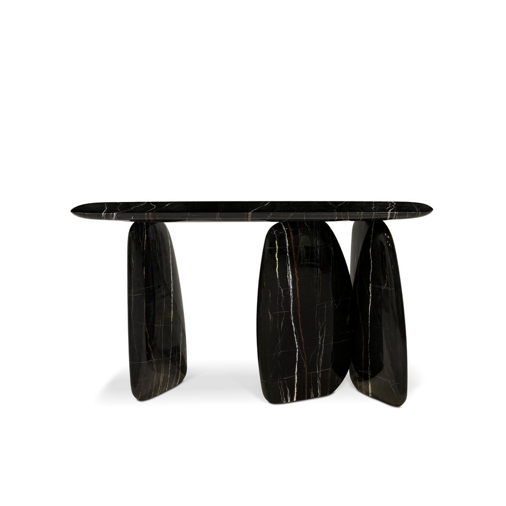 Eye-catching Modern Console Tables For a Statement Entryway