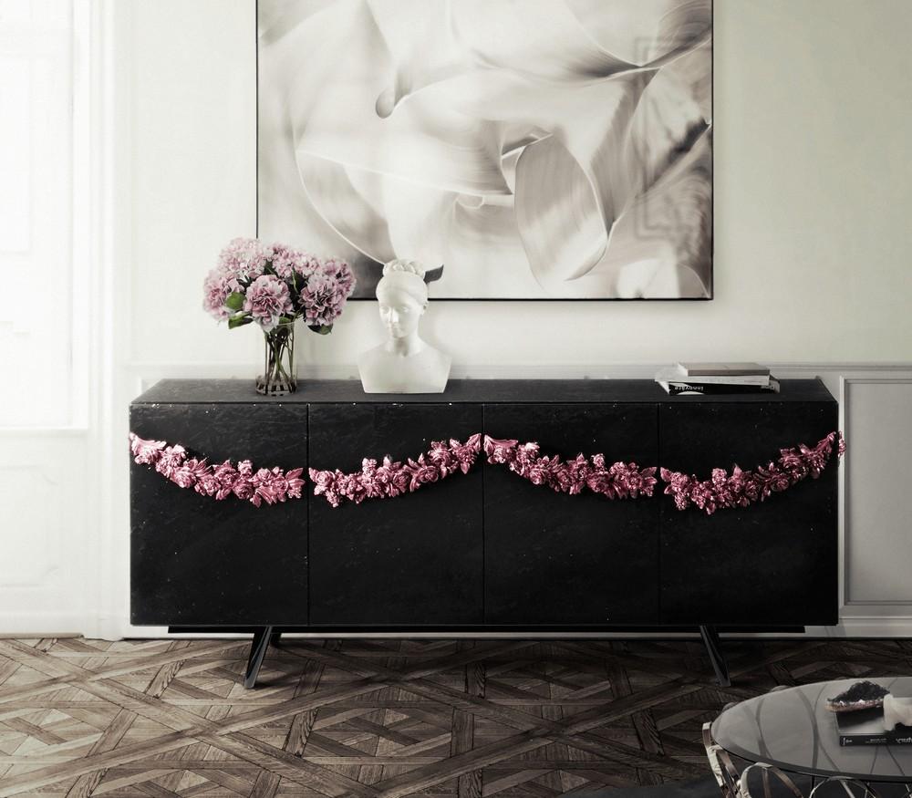 Metallic Black Matte: The Sideboards